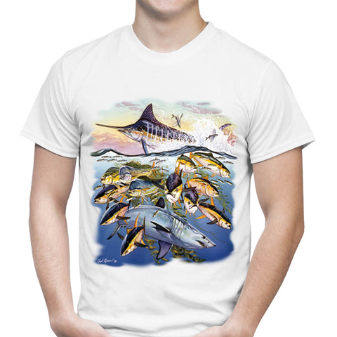 Saltwater Collage II T-Shirt