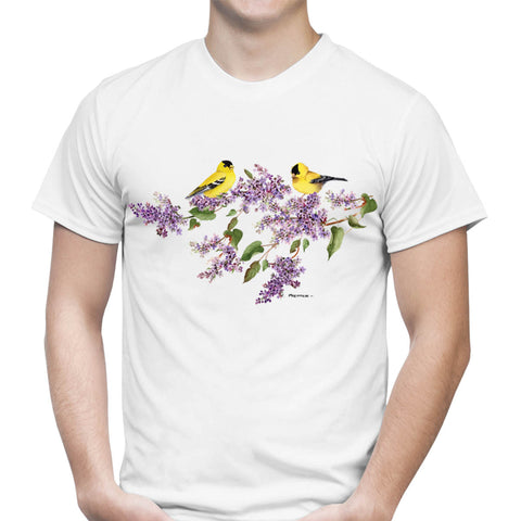 Lilac Goldfinch T-Shirt