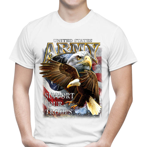 US Army Support Our Troops T-Shirt