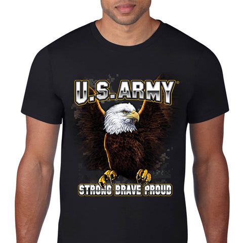 US Army Strong Brave Proud T-Shirt