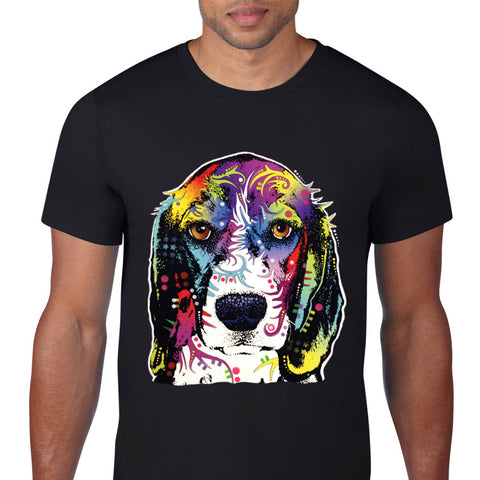 Colorful Beagle T-Shirt