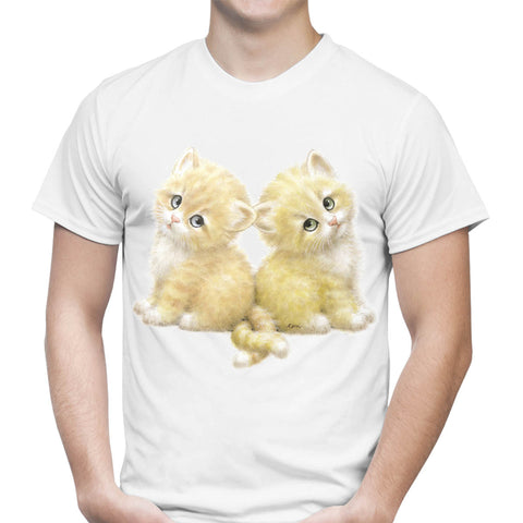 Kittens With Tails Entwined T-Shirt