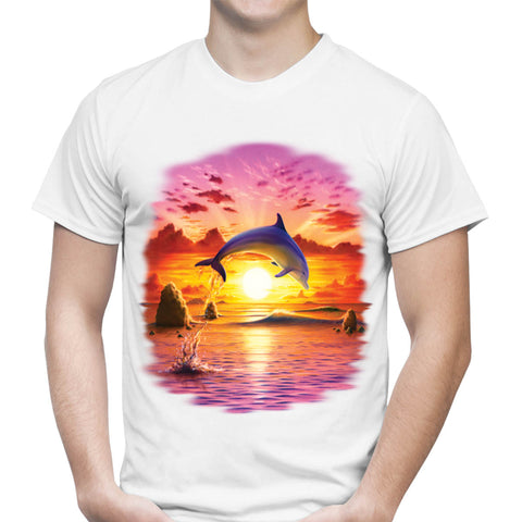 Day of the Dolphin Sunset T-Shirt
