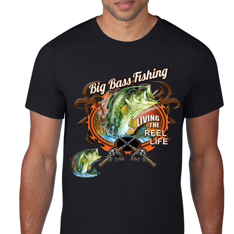 Big Bass Fishing T-Shirt