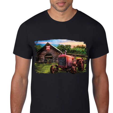Old Farm Tracktor T-Shirt