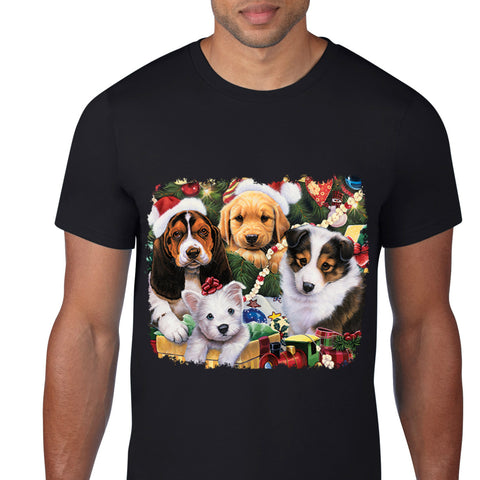Christmas Puppies T-Shirt