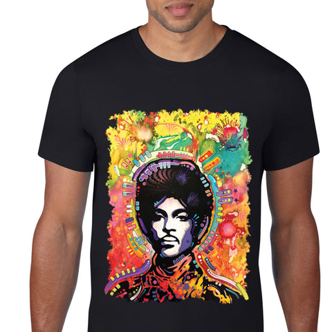 Funky Afro Hair Art T-Shirt