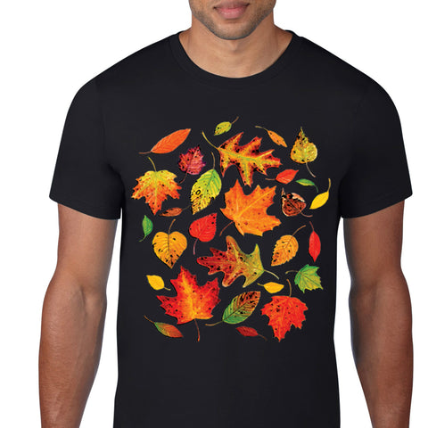 Autumn Leaves Art T-Shirt