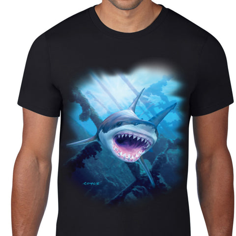 Shark Teeth Art T-Shirt