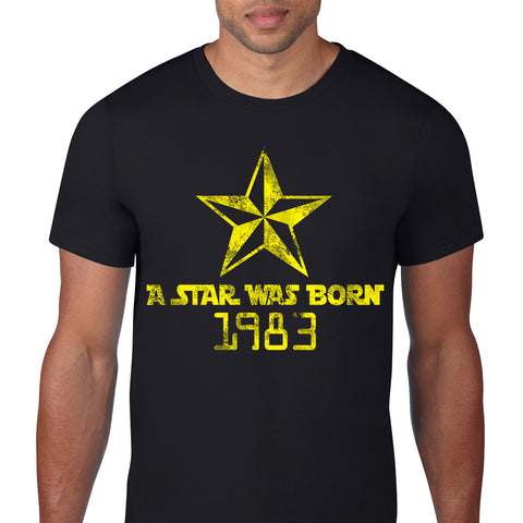 A Star Was Born 1983 Black T-Shirt