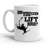 Custom Personalized Do You Even Lift Bro White 15 oz Coffee Mug