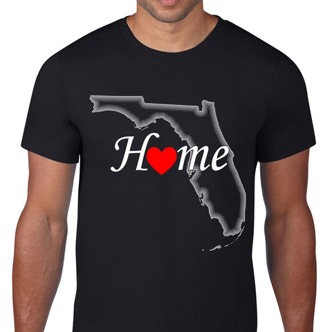 Florida Home Black T-Shirt