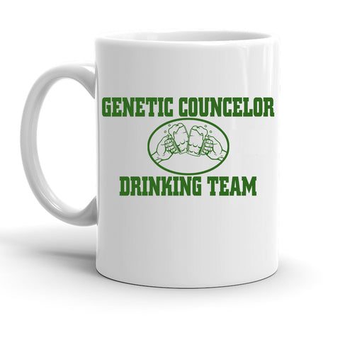 Custom Personalized Genetic Counselor Drinking Team White 15 oz Coffee Mug