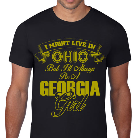 Georgia Girl Black T-Shirt