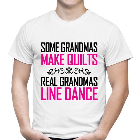 Grandmas Make Quilts White T-Shirt