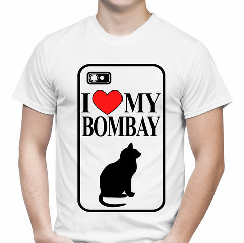 I Love My Bombay White T-Shirt