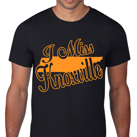 I Miss Knoxville Black T-Shirt