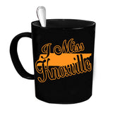 Custom Personalized I Miss Knoxville Black 15 oz Coffee Mug