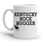 Custom Personalized Kentucky Rock Hugger White 15 oz Coffee Mug