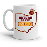 Custom Personalized Return Of The King White 15 oz Coffee Mug