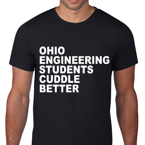Ohio Cuddle Better Black T-Shirt