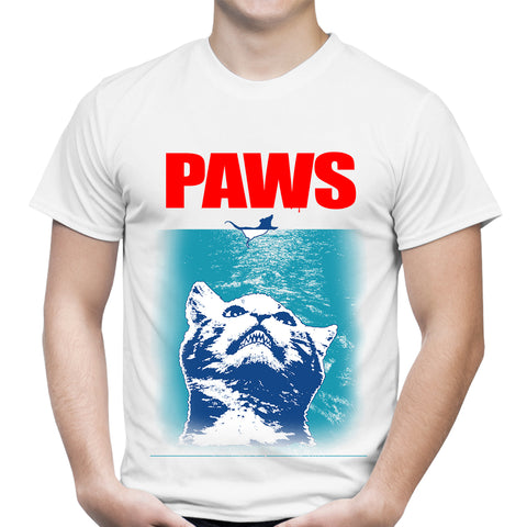 PAWS White T-Shirt