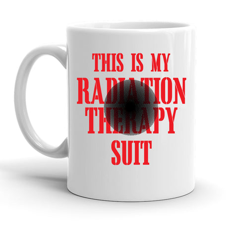 Custom Personalized Radiation Therapy Suit White 15 oz Coffee Mug