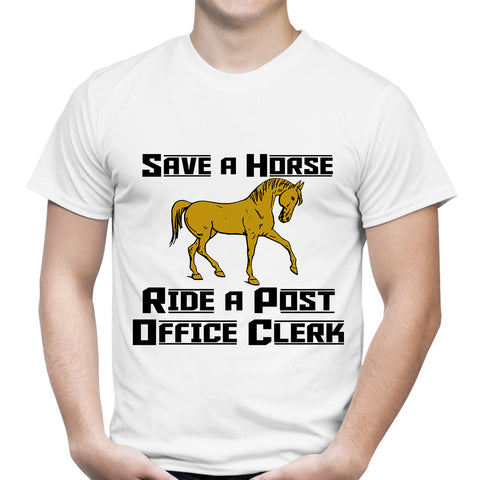 Save A Horse White T-Shirt