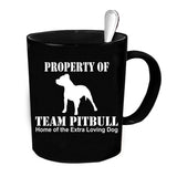 Custom Personalized Team Pitbull Black 15 oz Coffee Mug