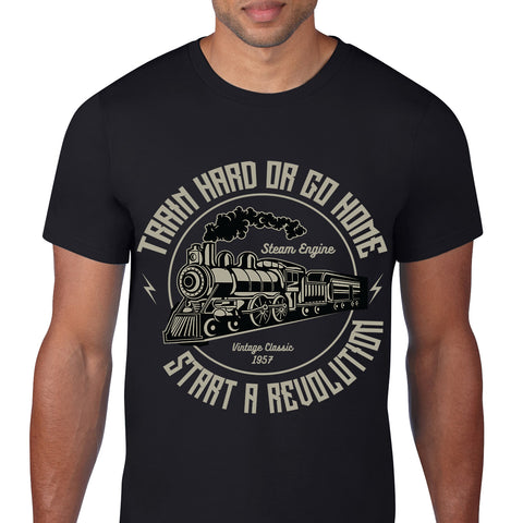 Train Black T-Shirt