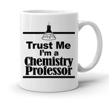Custom Personalized Trust Chemistry Professor White 15 oz Coffee Mug