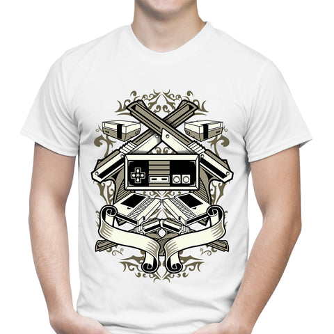Video Games White T-Shirt
