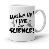 Custom Personalized Wake Up Science White 15 oz Coffee Mug