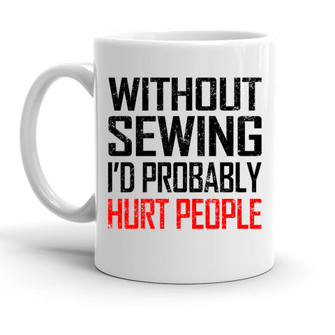 Custom Personalized Without Sewing White 15 oz Coffee Mug