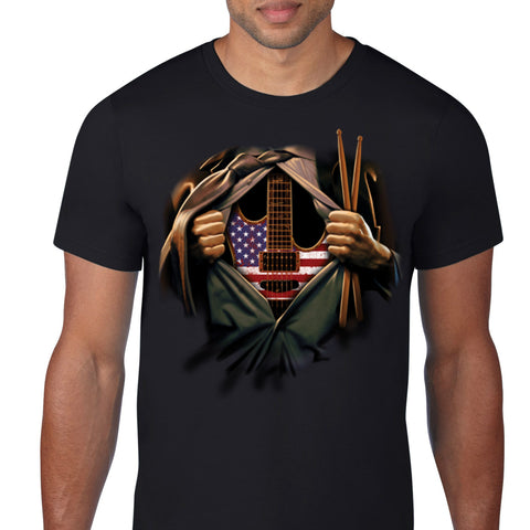 American Music Lover T-Shirt