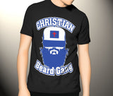 Christian Beard Gang T Shirt in Black