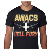 USAF AWACS 2 Hell Fury Custom Personalized T-Shirt