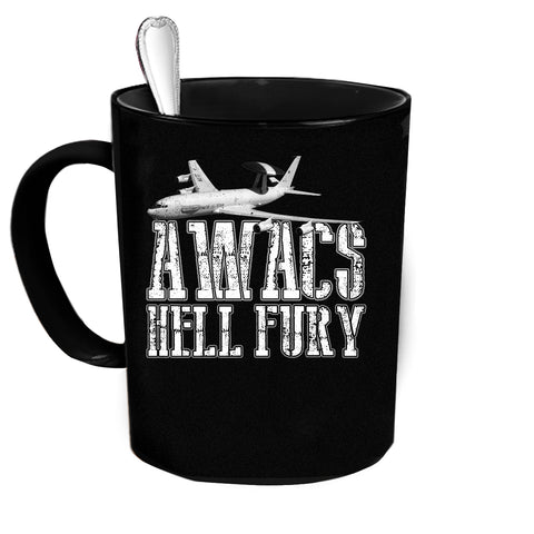 AWACS 3 Hell Fury Custom Personalized Coffee Mug