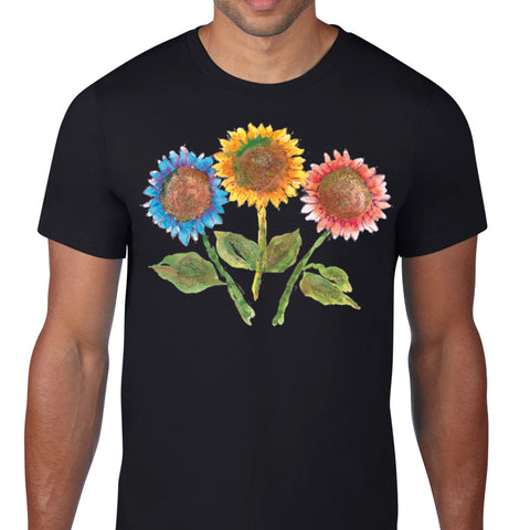 Colorful Sunflowers T-Shirt