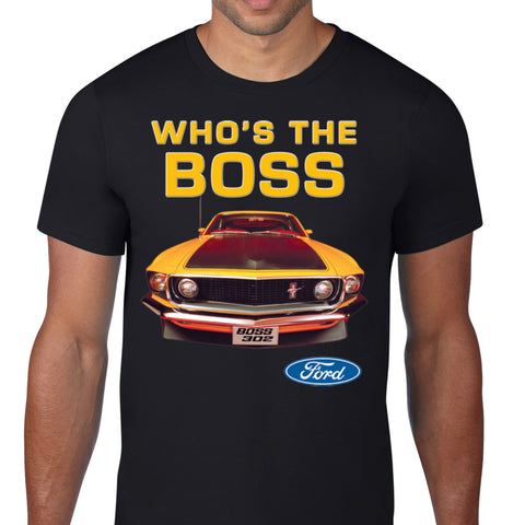 Who's The Boss T-Shirt