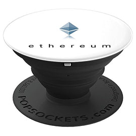 Cryptocurrency Logo Official Ethereum - PopSockets Grip and Stand for Phones and Tablets