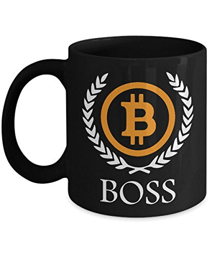 Bitcoin Boss | Bitcoin Coffee Mug | Bitcoin Mug