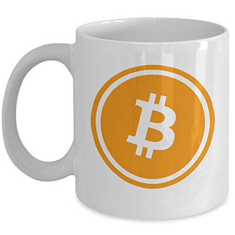 Bitcoin Mug - Cryptocurrency Coffee Mug - Satoshi Nakamoto BTC Mug 11 oz Ceramic Novelty Gift For Supporters Him or Her - By MyCozyCups