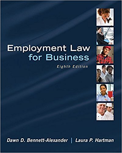 Employment Law for Business (Irwin Business Law)