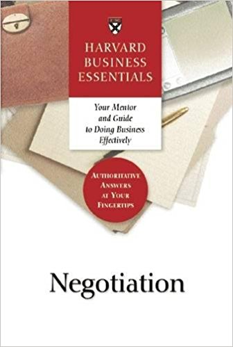 Negotiation (Harvard Business Essentials Series)