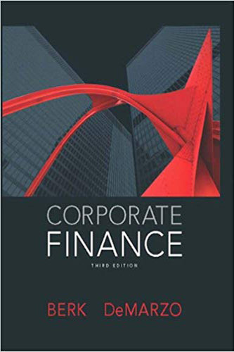 orporate Finance (3rd Edition) (Pearson Series in Finance)