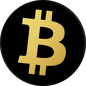Culture of Pop Bitcoin Logo PopSockets Stand for Smartphones and Tablets