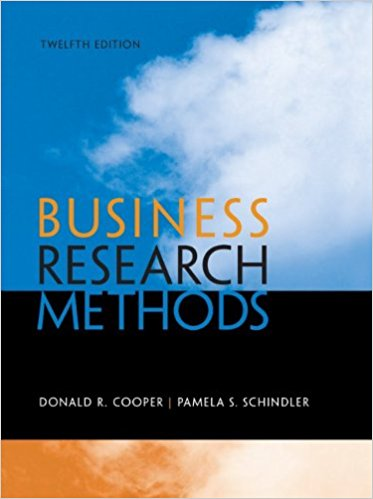 Business Research Methods, 12th Edition