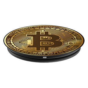 Bitcoin Cryptocurrency - PopSockets Grip and Stand for Phones and Tablets