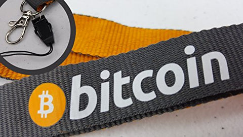 Original Bitcoin Lanyard and Keychain